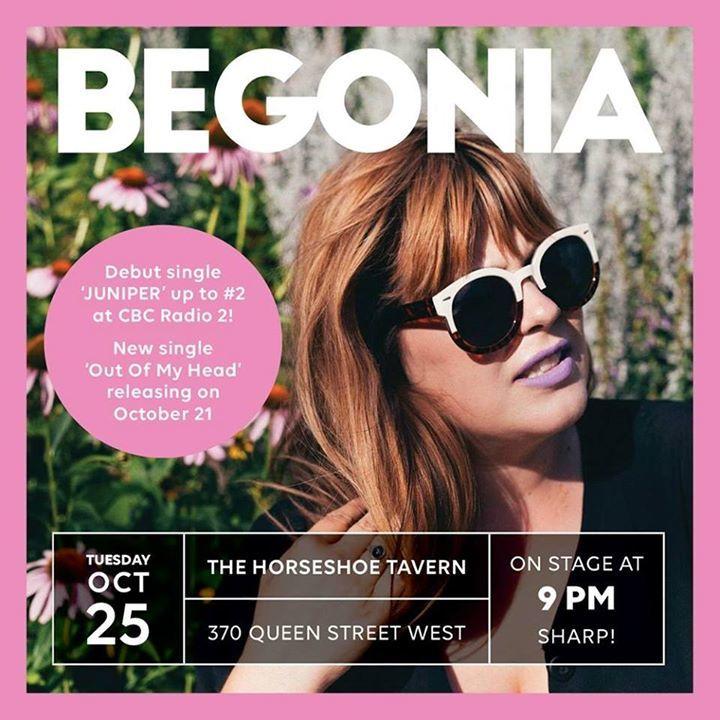 Begonia Tour Dates