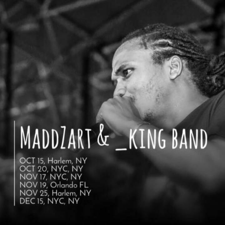 Maddzart Tour Dates