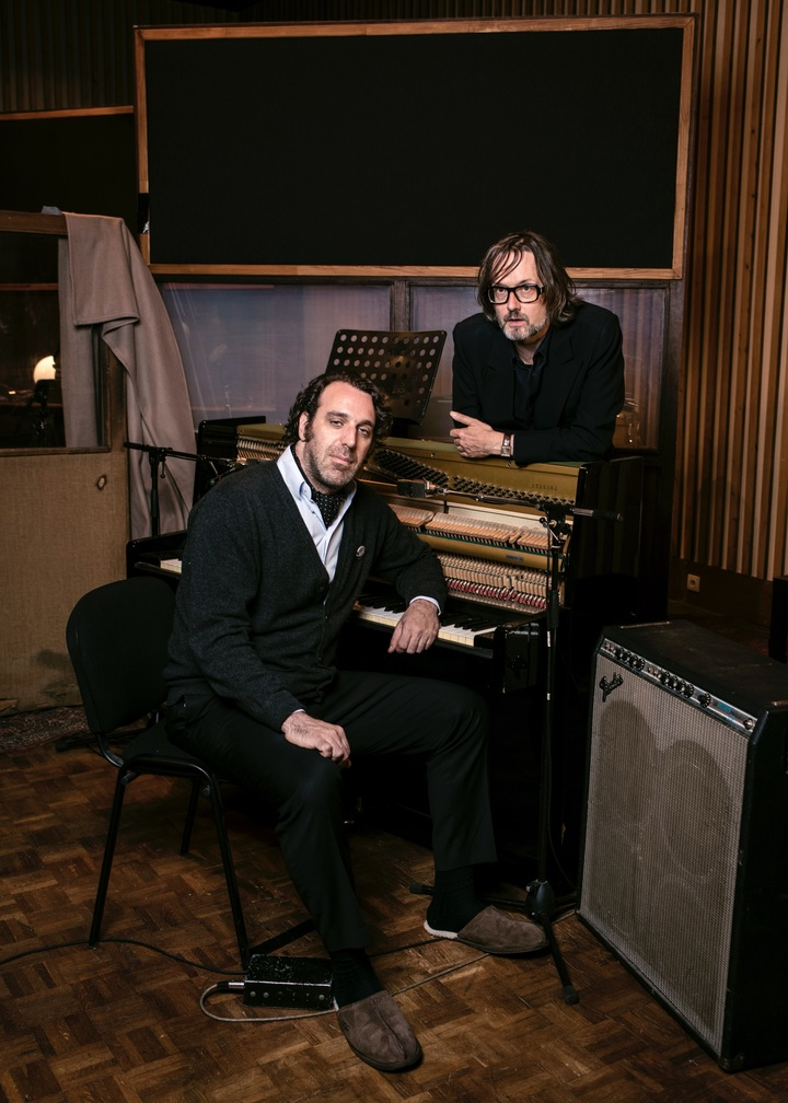 CHILLY GONZALES @ ROOM 29: Jarvis Cocker & Chilly Gonzales @ Barbican Theatre - London, United Kingdom