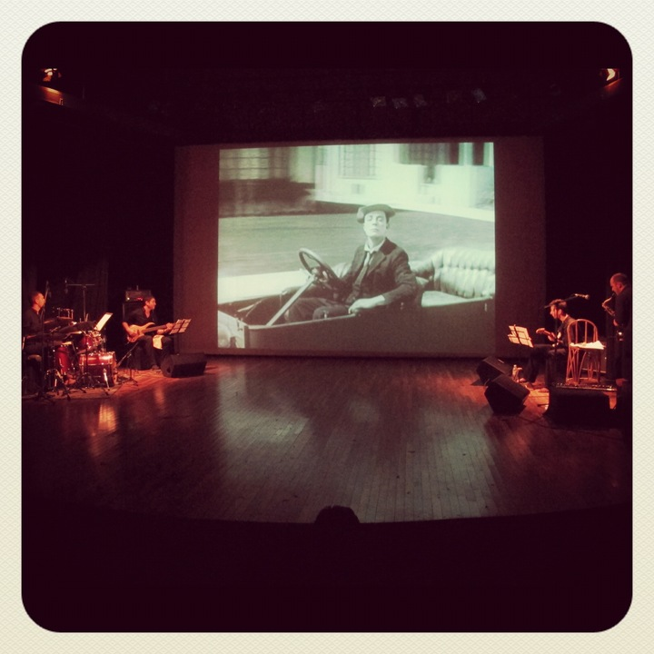 "Ozma @ OZMA Movie Concert @ THEATRE EDEN : ""Three Ages"" by Buster Keaton - Senas, France"