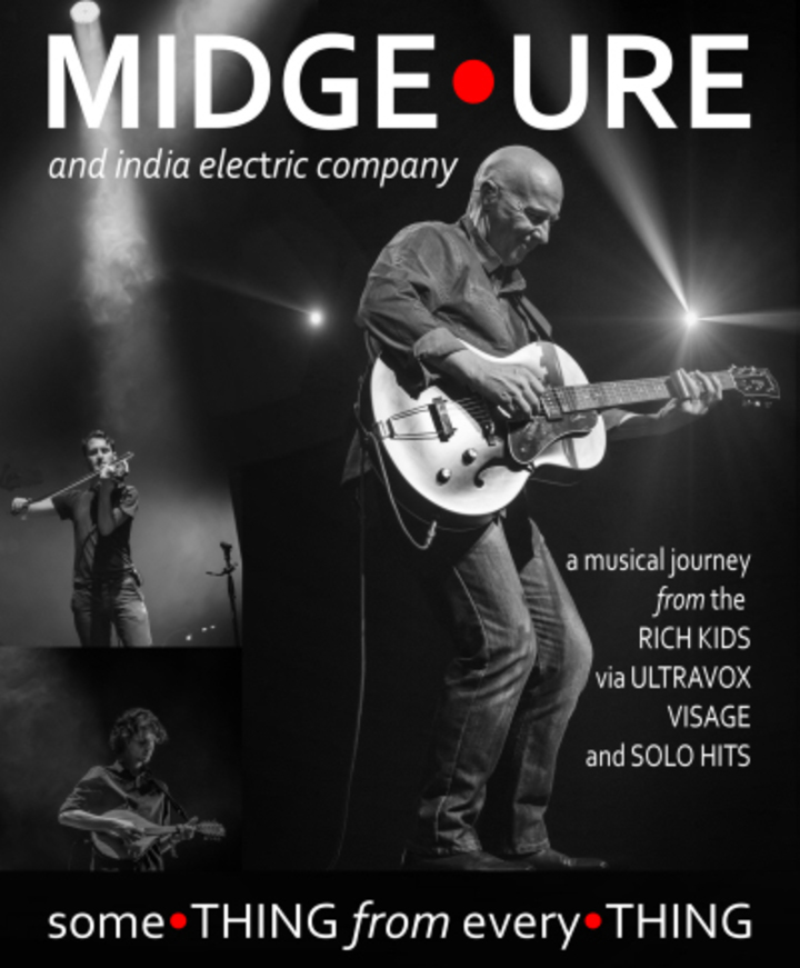 Midge Ure @ Madam Felle - Bergen, Norway