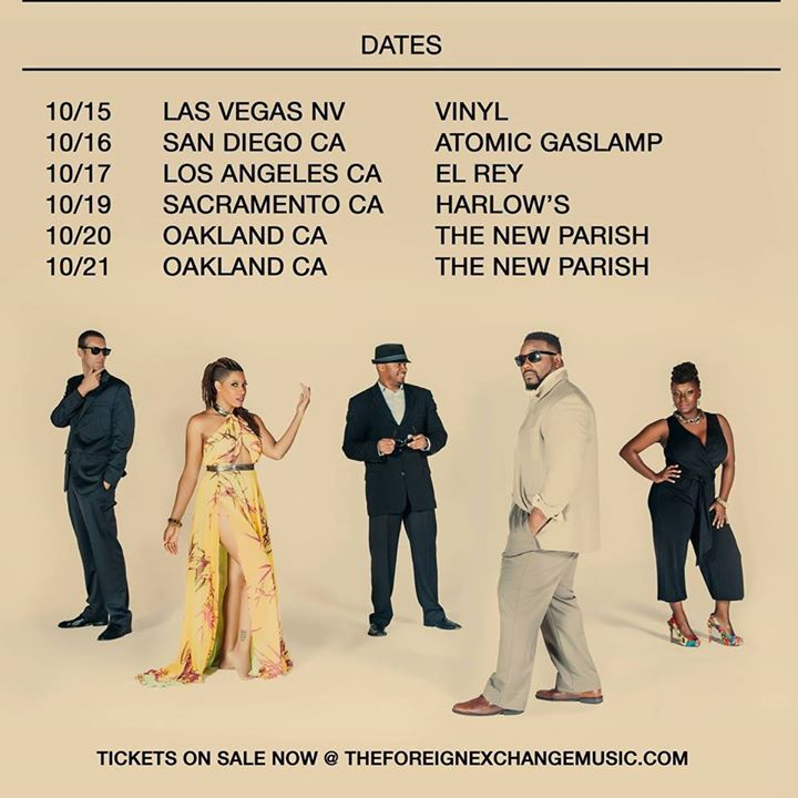 The Foreign Exchange Tour Dates