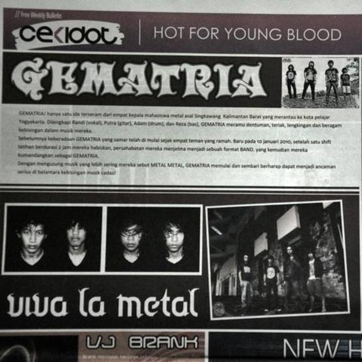 Gematria Tour Dates