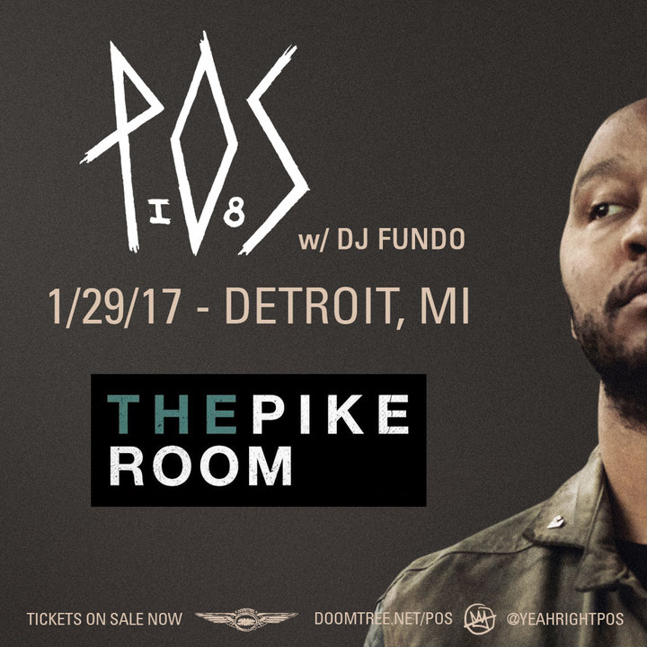 P.O.S. @ The Pike Room - Detroit, MI