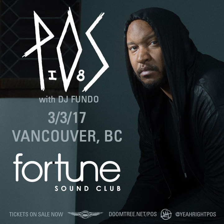 P.O.S. @ Fortune Sound Club - Vancouver, Canada