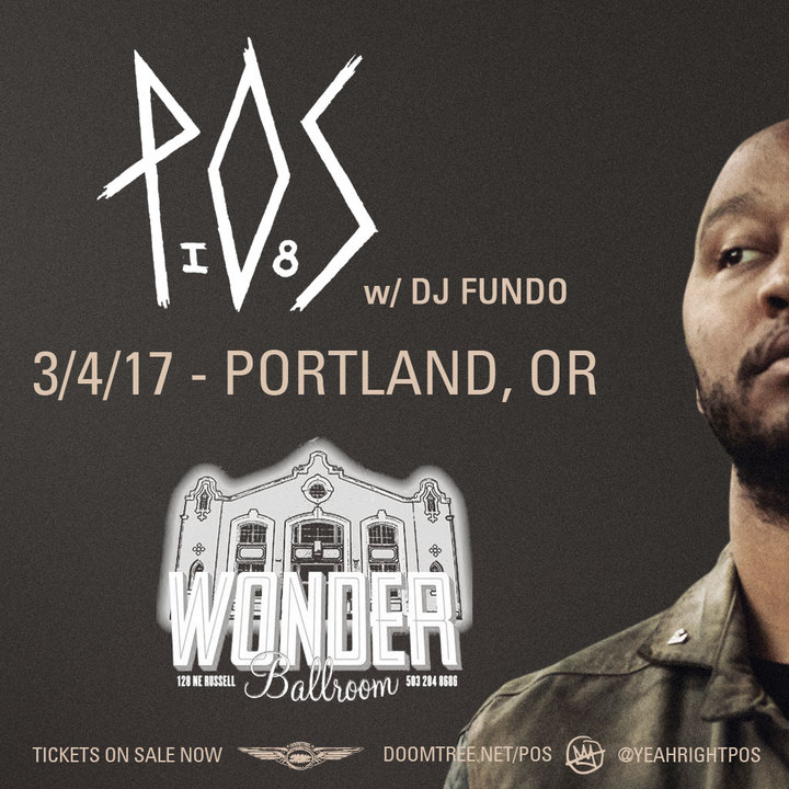 P.O.S. @ Wonder Ballroom - Portland, OR