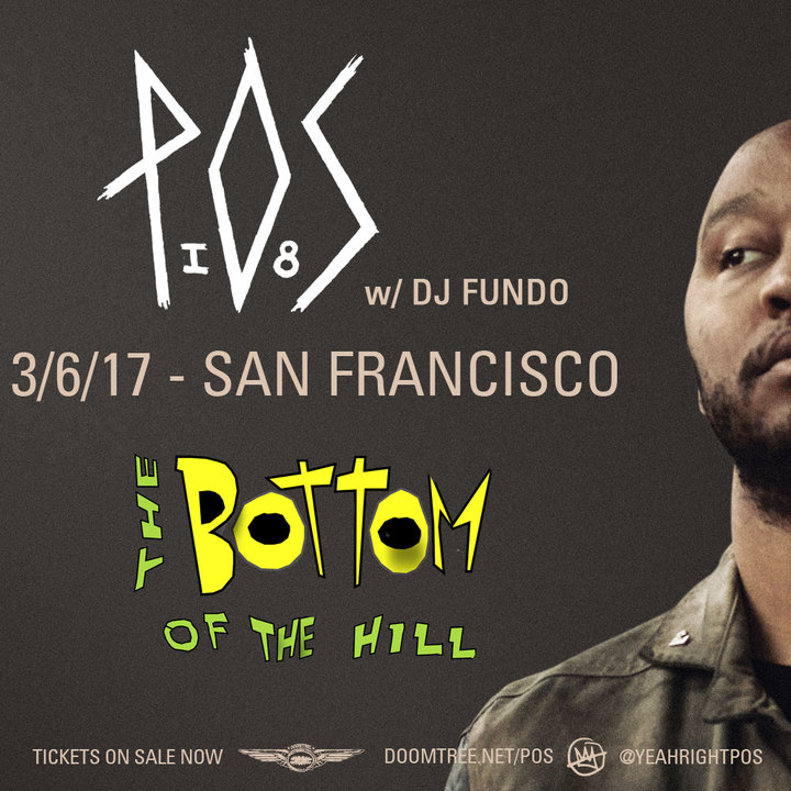 P.O.S. @ Bottom Of The Hill - San Francisco, CA