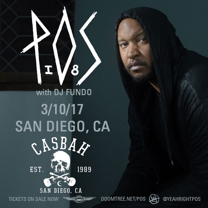 P.O.S. @ The Casbah - San Diego, CA