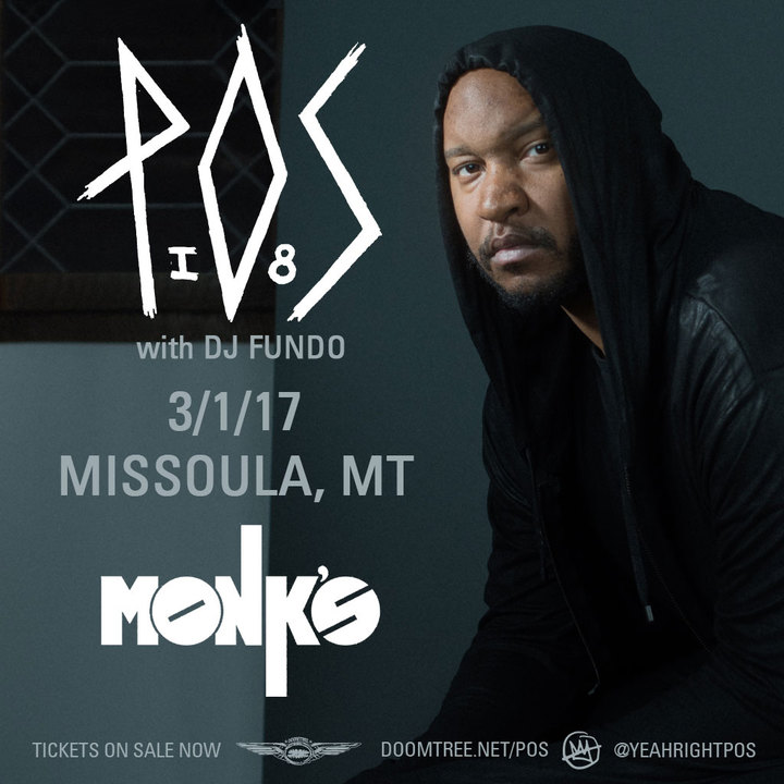 P.O.S. @ Monk's - Missoula, MT