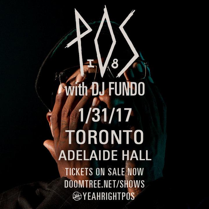 P.O.S. @ Adelaide Hall - Toronto, Canada