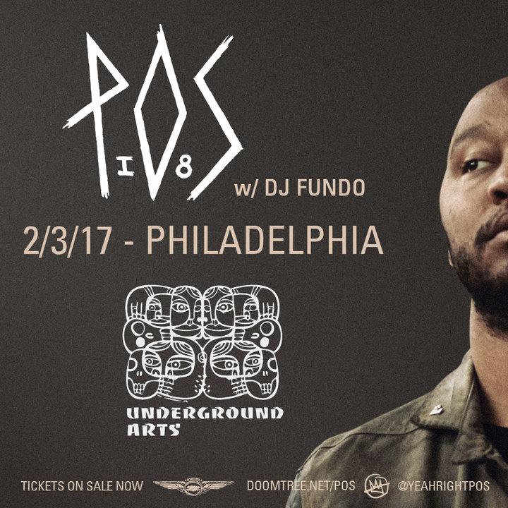 P.O.S. @ Underground Arts - Philadelphia, PA