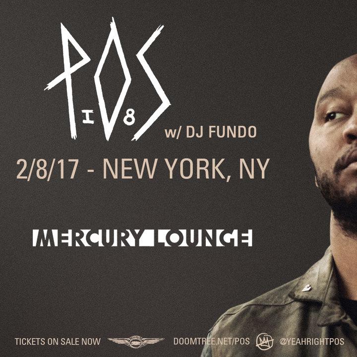 P.O.S. @ Mercury Lounge - New York, NY
