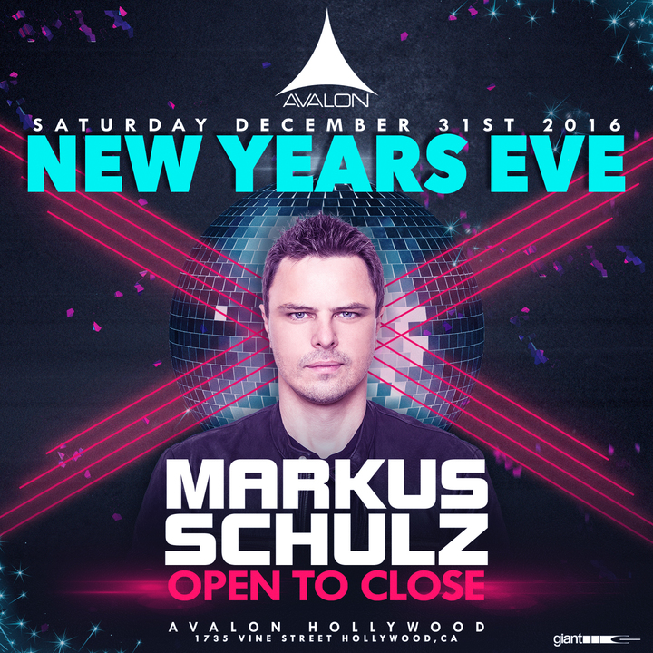 Markus Schulz @ Avalon (Open to Close Solo Set) - Los Angeles, CA