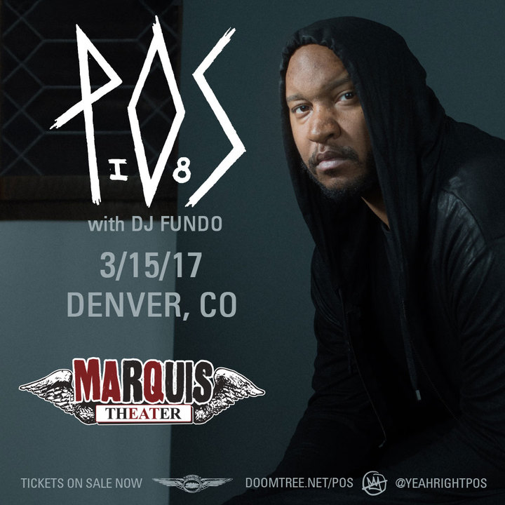 P.O.S. @ Marquis Theater - Denver, CO