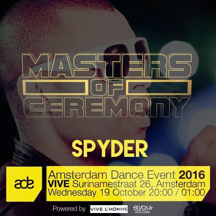 MC Spyder Tour Dates