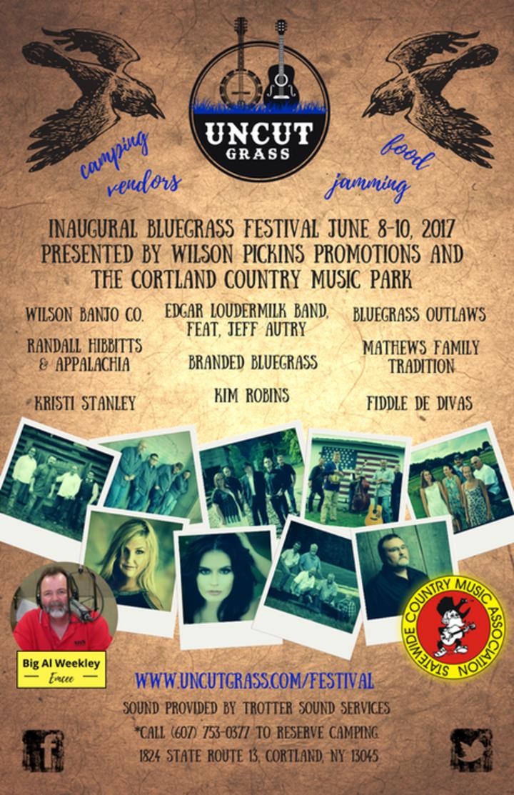 Kim Robins @ Uncut Grass Bluegrass Festival - Cortland, NY
