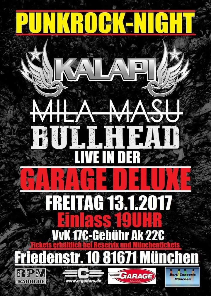 Bullhead @ Garage Deluxe - München, Germany