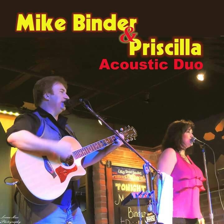 Mike Binder and Priscilla Acoustic Duo Tour Dates