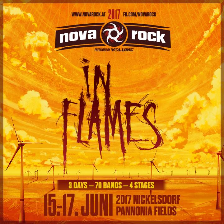 In Flames @ Nova Rock Festival - Nickelsdorf, Austria