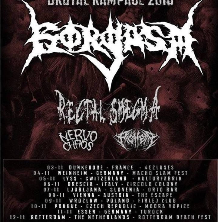 Gorgasm Tour Dates