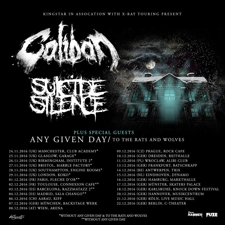 Any Given Day @ Live Music Hall - Cologne, Germany