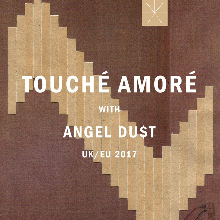 Touche Amore @ Trix Club - Antwerp, Belgium