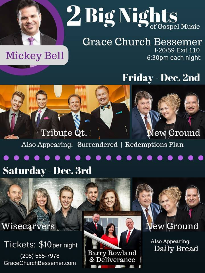 The Wisecarvers @ Grace Church Bessemer  - Bessemer, AL
