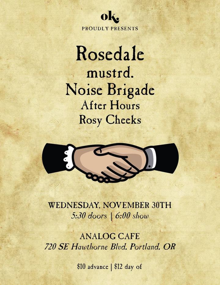 Rosedale @ Analog Cafe & Theater - Portland, OR