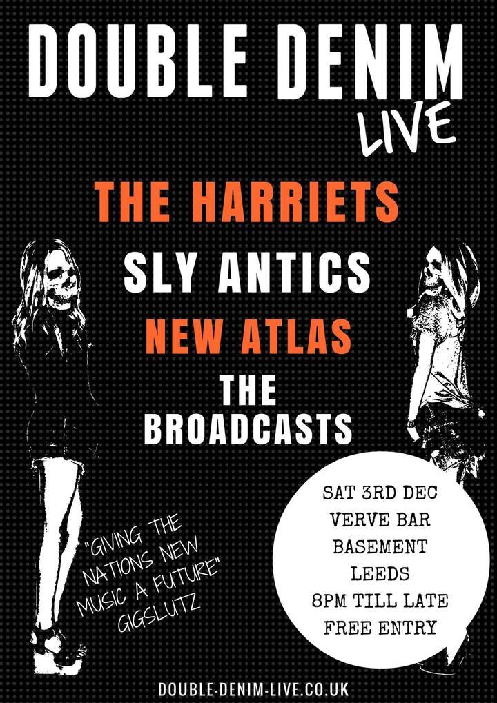 The Harriets @ Verve Bar - Leeds, United Kingdom