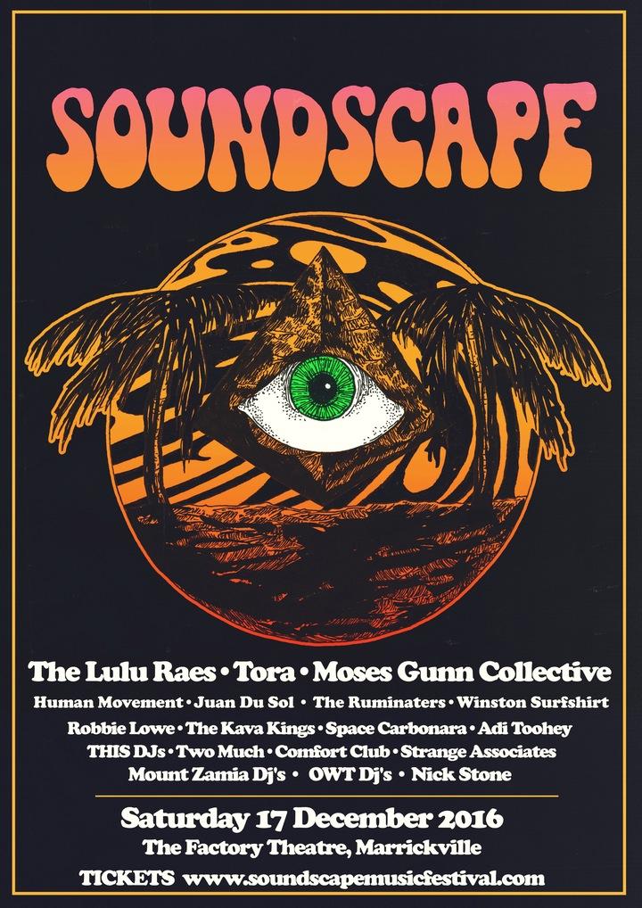 The Lulu Raes @ Soundscape Festival (Factory Theatre) - Sydney, Australia