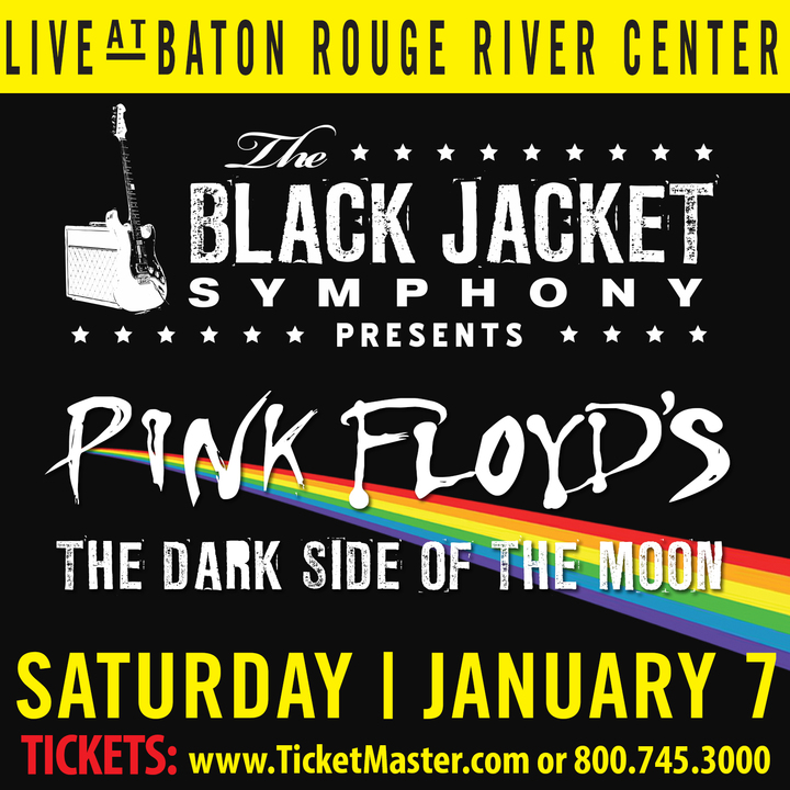 "The Black Jacket Symphony @ Baton Rouge River Center - Performing Pink Floyd's ""The Dark Side of the Moon"" - Baton Rouge, LA"