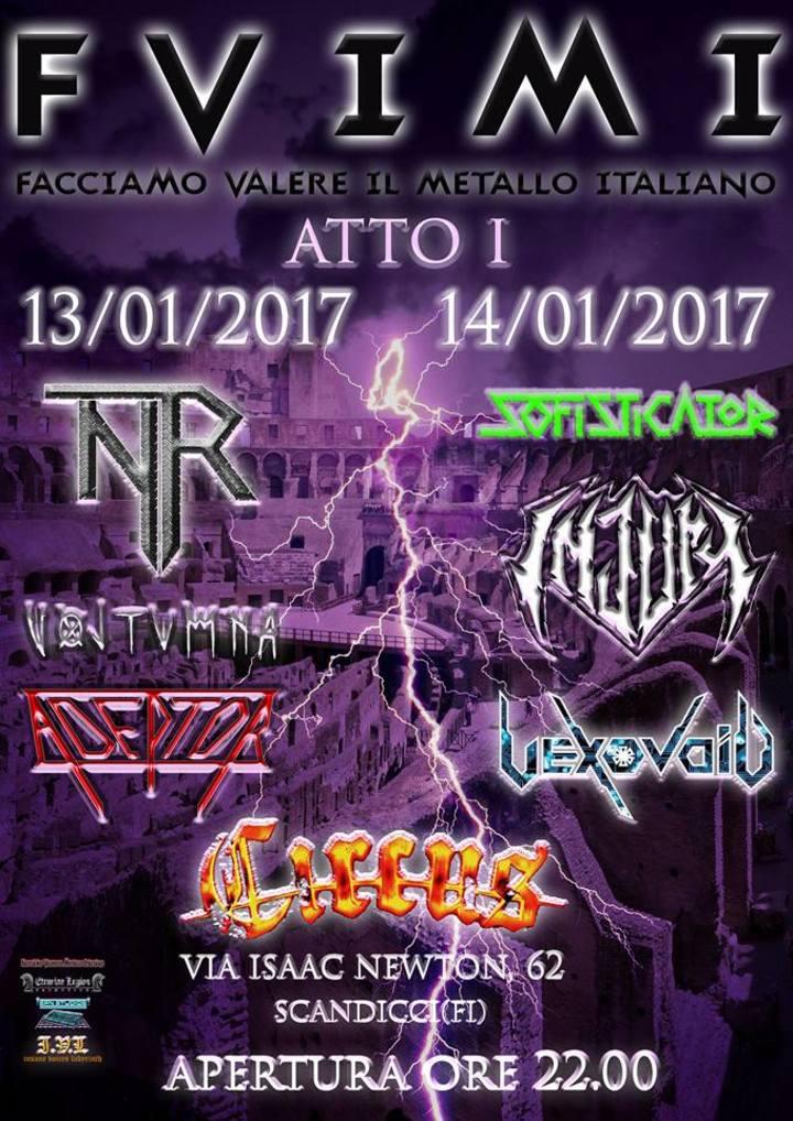 Vexovoid @ Circus Club - Scandicci, Italy