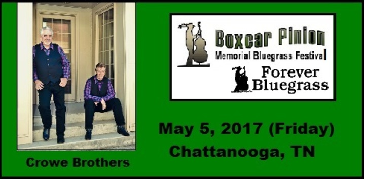 Crowe Brothers @ Boxcar Pinion Bluegrass Festival - Chattanooga, TN