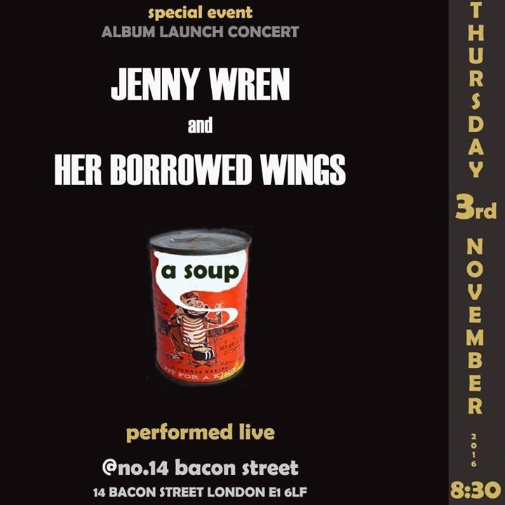 Jenny Wren and Her Borrowed Wings Tour Dates