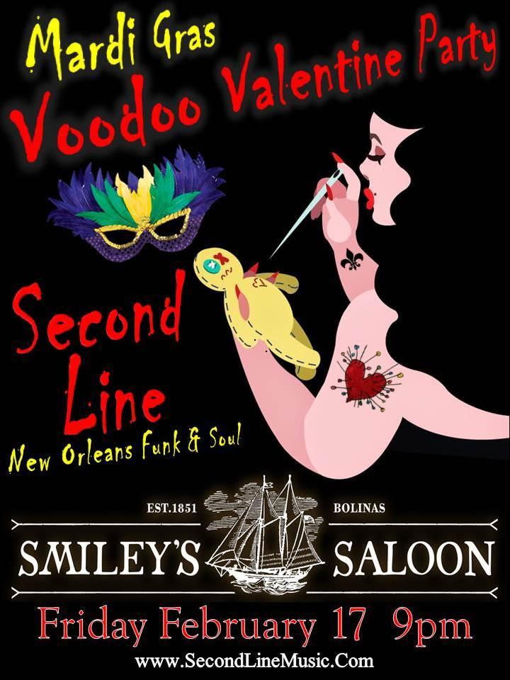 SECOND LINE @ Smileys - Bolinas, CA