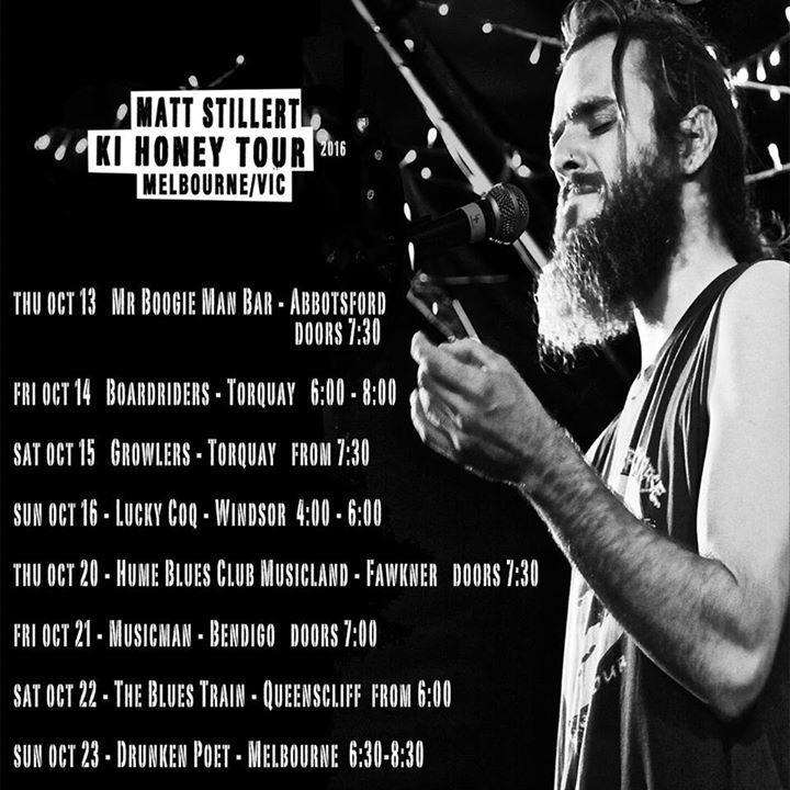Matt Stillert Tour Dates