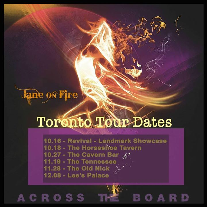 Across The Board Tour Dates