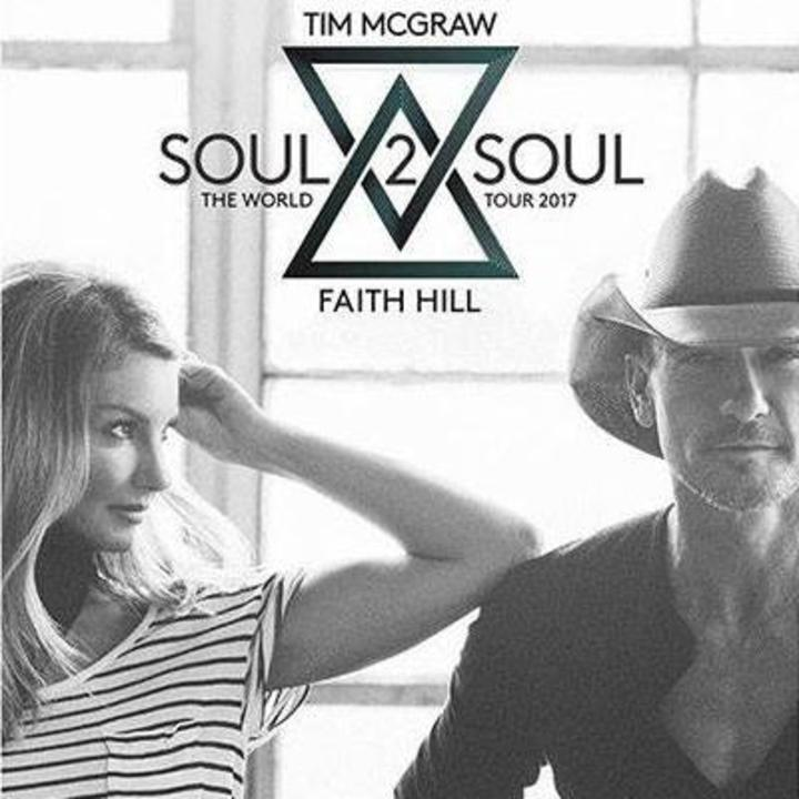 Soul2Soul with Tim McGraw and Faith Hill @ North Charleston Coliseum - Charleston, SC