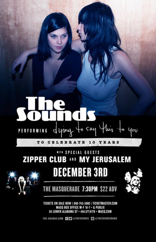 The Sounds @ The Masquerade - Atlanta, GA