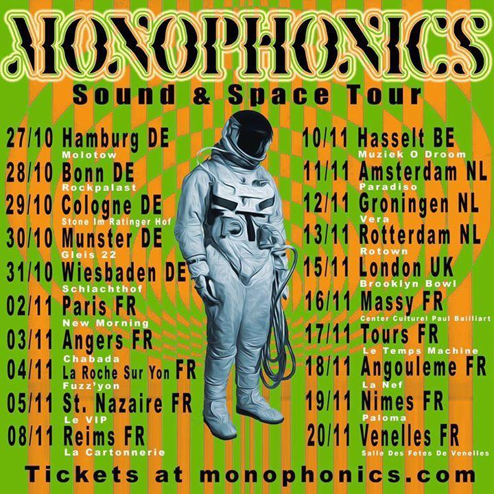 Monophonics Tour Dates