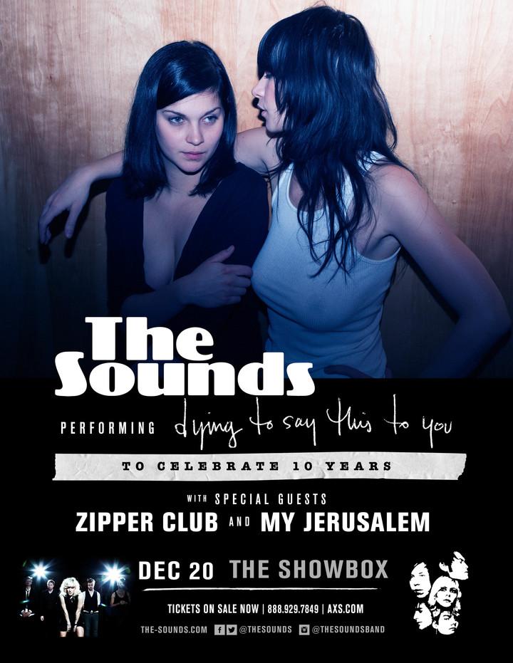 The Sounds @ Showbox - Seattle, WA