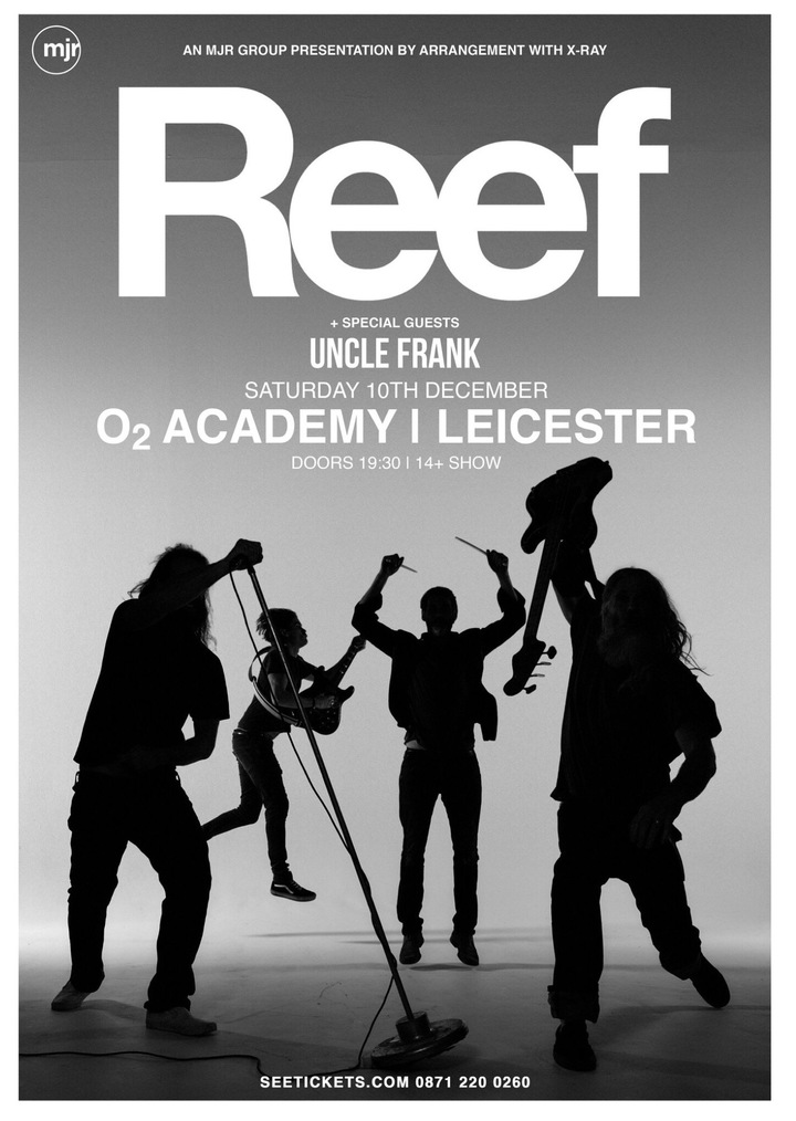 Uncle Frank @ Leicester o2ACADEMY  - Leicester, United Kingdom