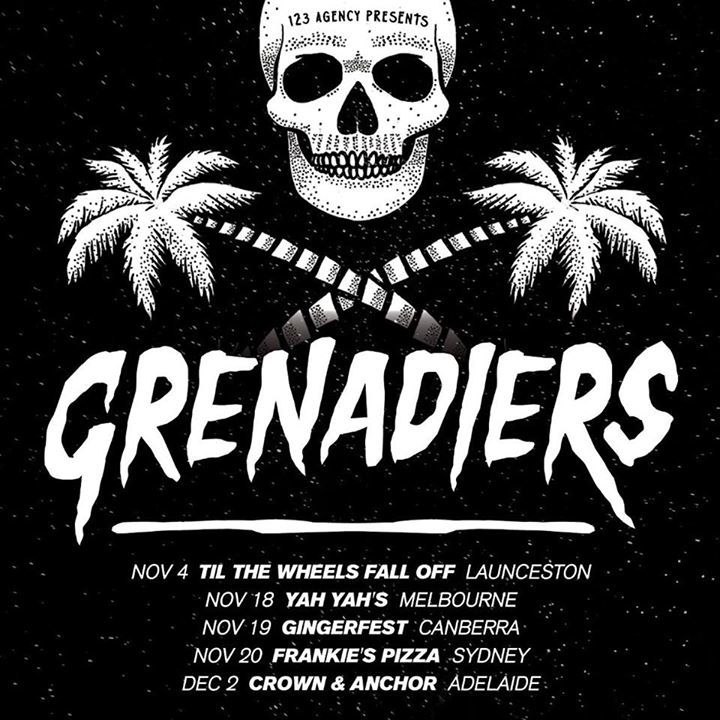 Grenadiers Tour Dates