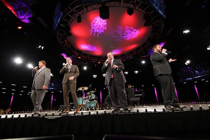 Gold City Quartet @ 49th Brumley Gospel Song - Mabee Center - Tulsa, OK