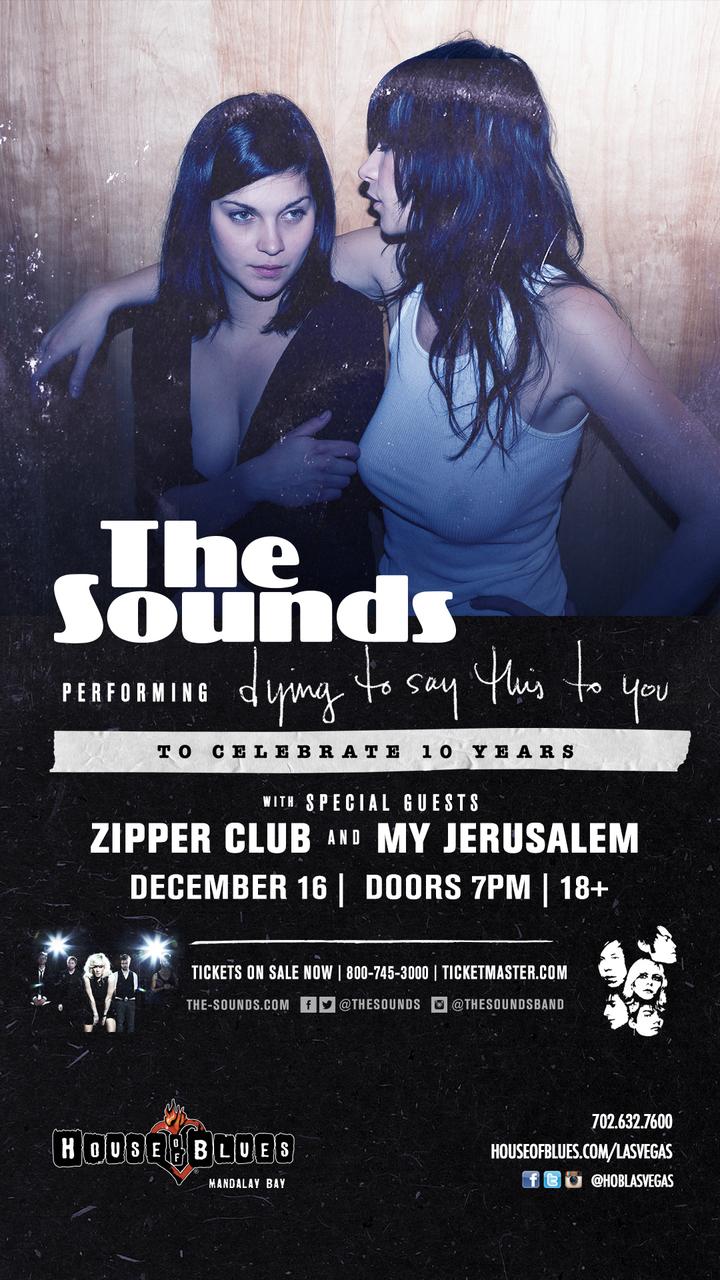 The Sounds @ House Of Blues - Las Vegas, NV
