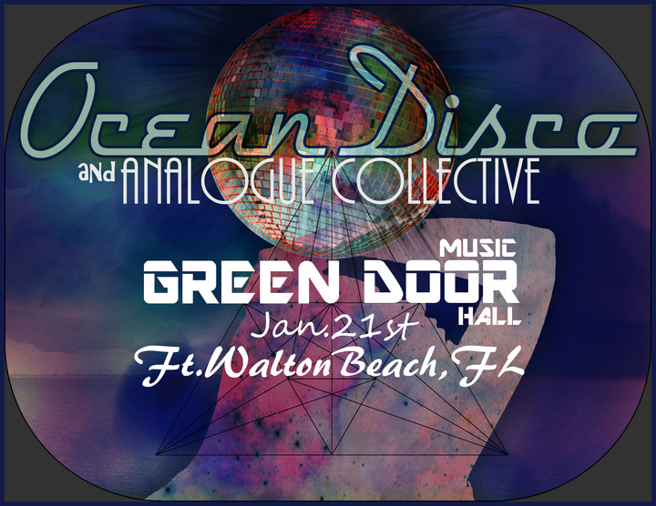 Ocean Disco @ Green Door Music Hall - Fort Walton Beach, FL