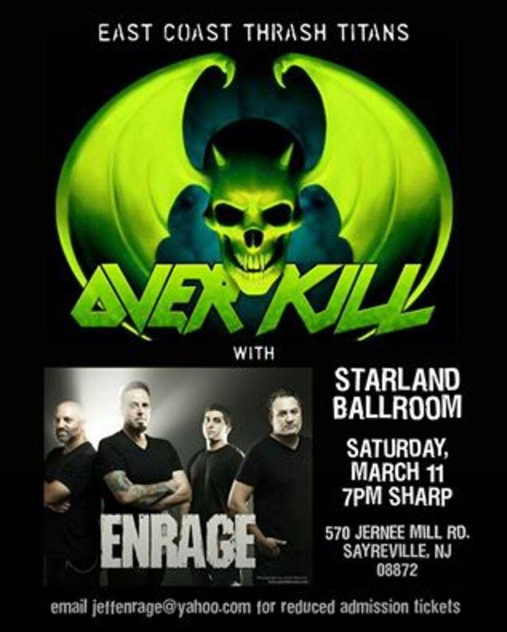 Enrage @ Starland Ballroom - Sayreville, NJ