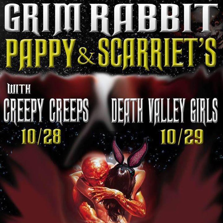 Gram Rabbit Tour Dates