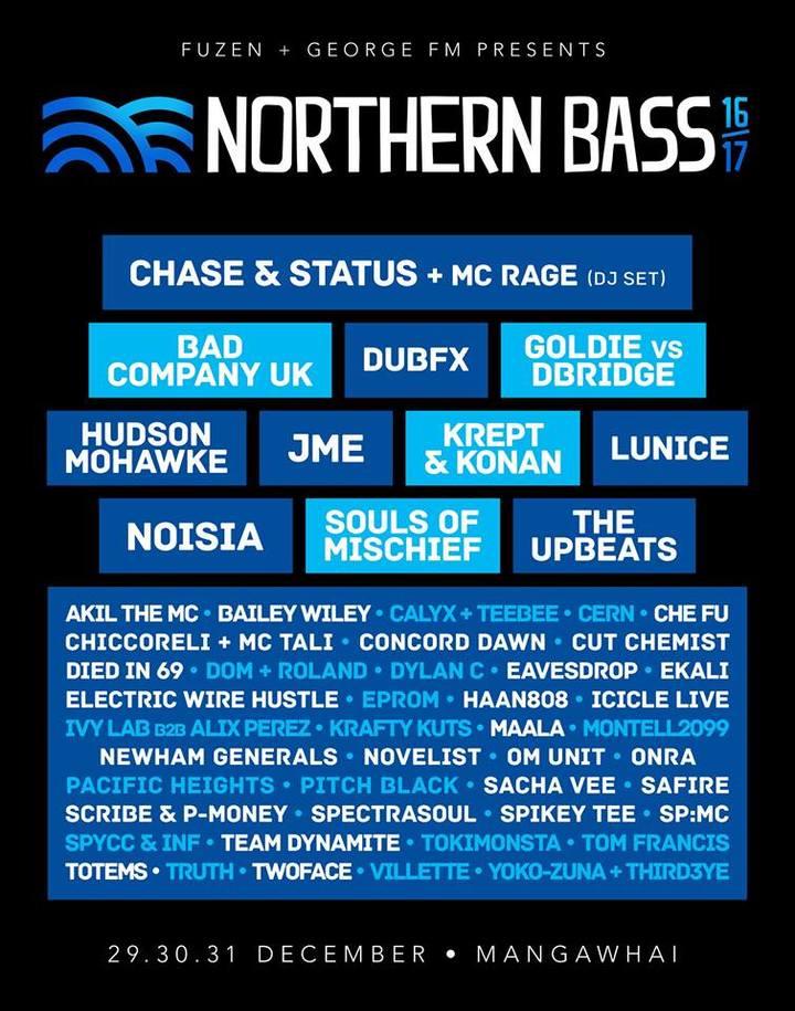 Onra @ Northern Bass Festival - Mangawhai, New Zealand