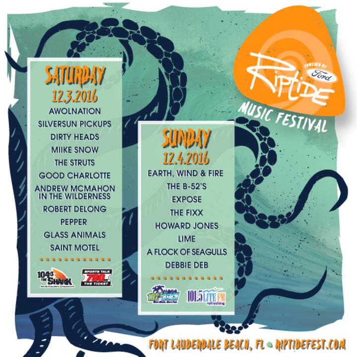 Expose @ Riptide Music Festival - Fort Lauderdale, FL